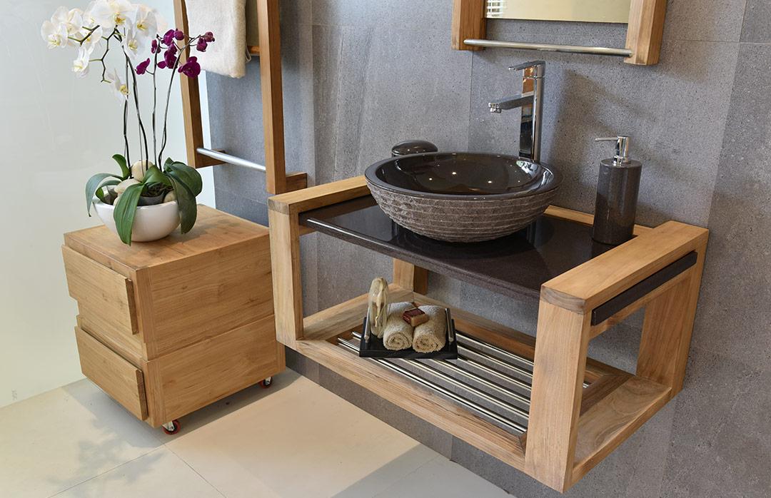 salles de bains en pierre de lave maill e couleur lave. Black Bedroom Furniture Sets. Home Design Ideas