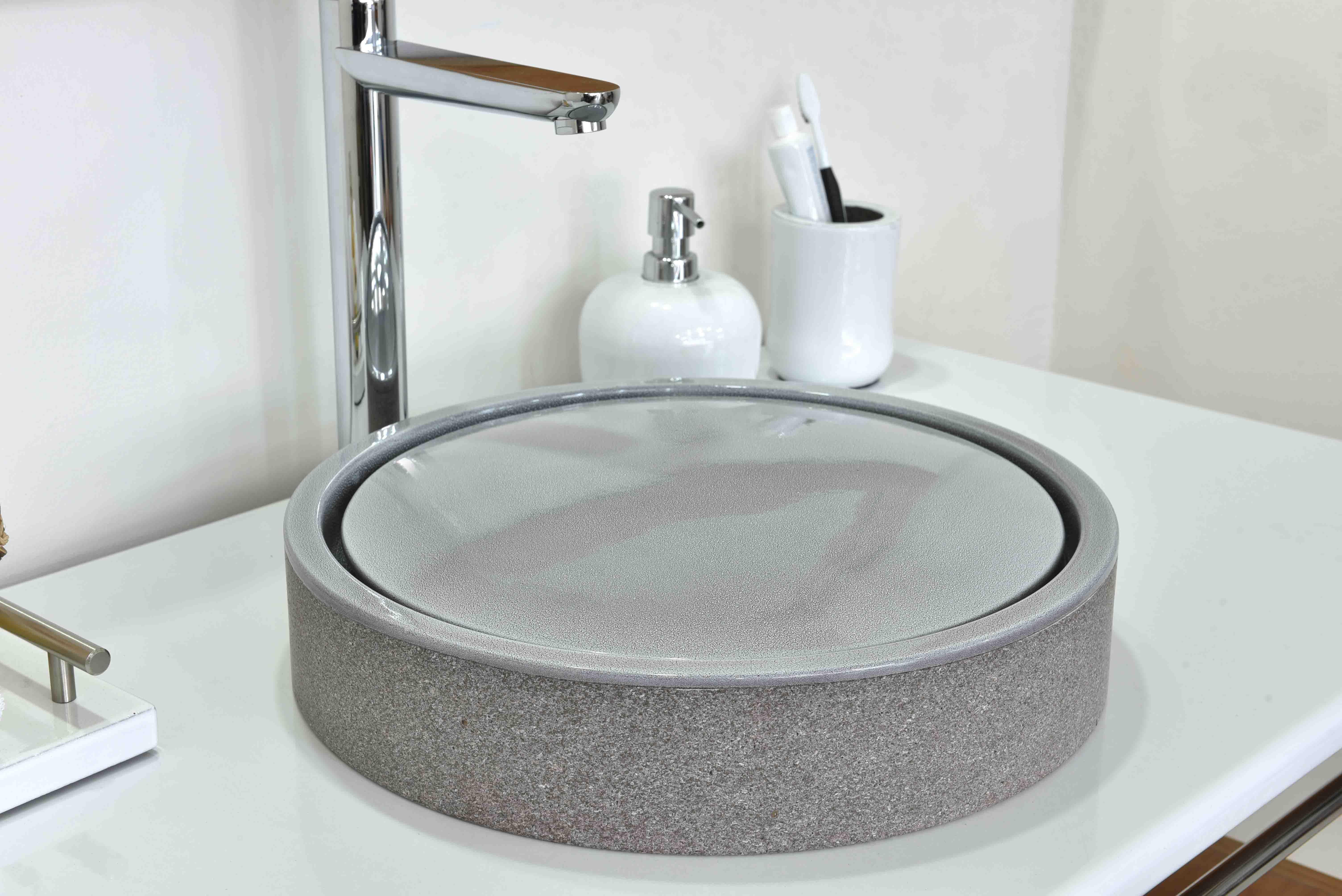 Base Coupole-grey-new-system-water-bois-teak-nature-couleur-lave-volcan-émaille-céramique-France-Luxe