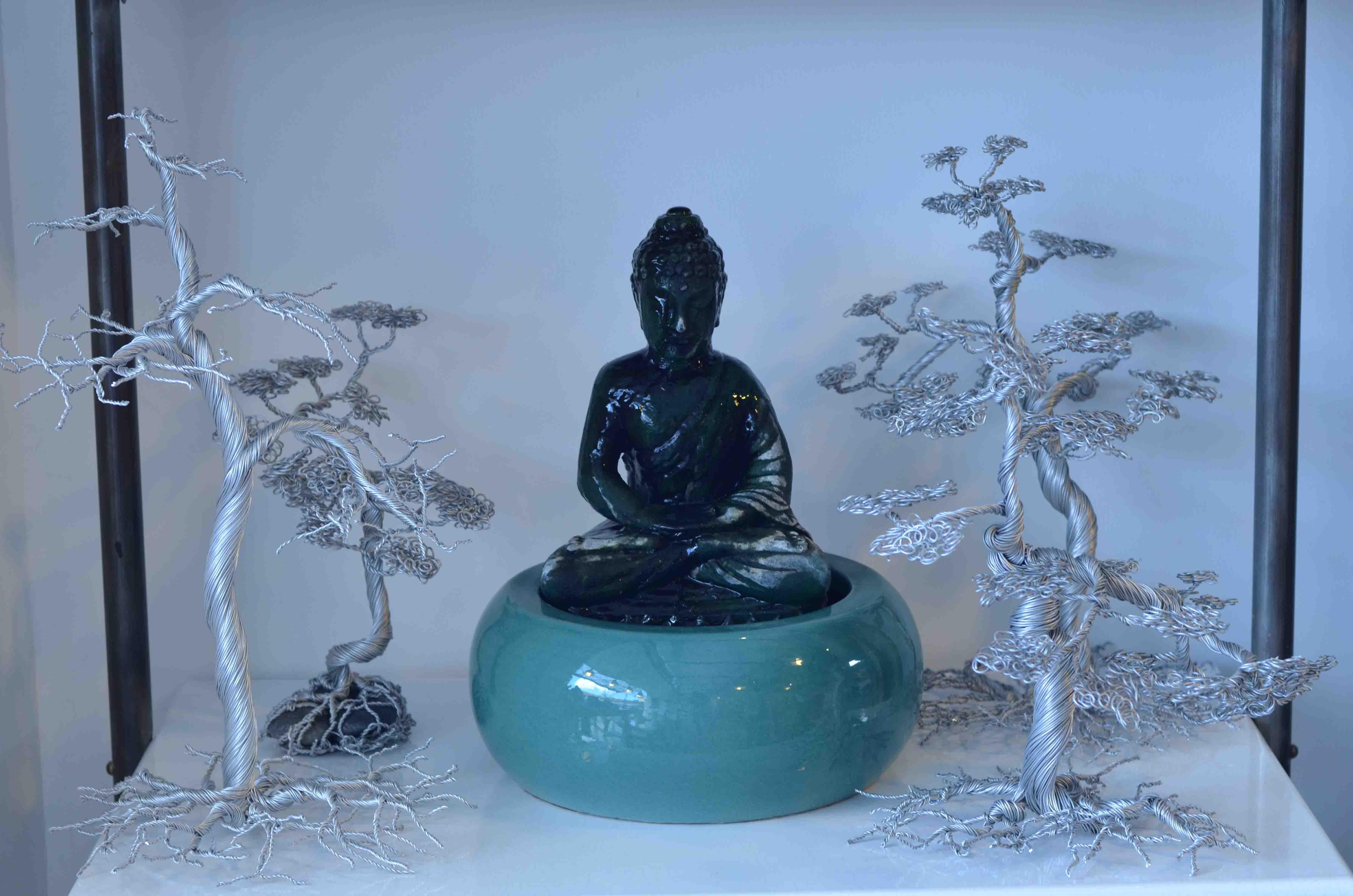 Emaillage-boudha-culturel-déco-green-nature-couleur-lave-volcan-modern-émaille-céramique-France-Luxe-design