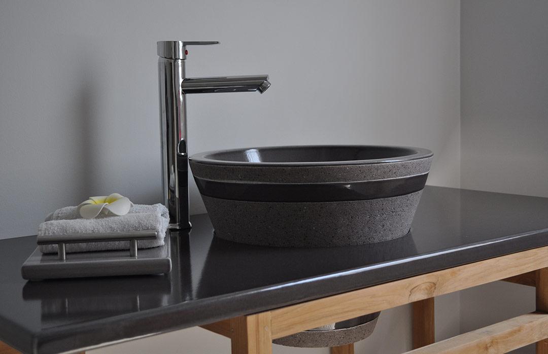 Vasque originale à encastrer