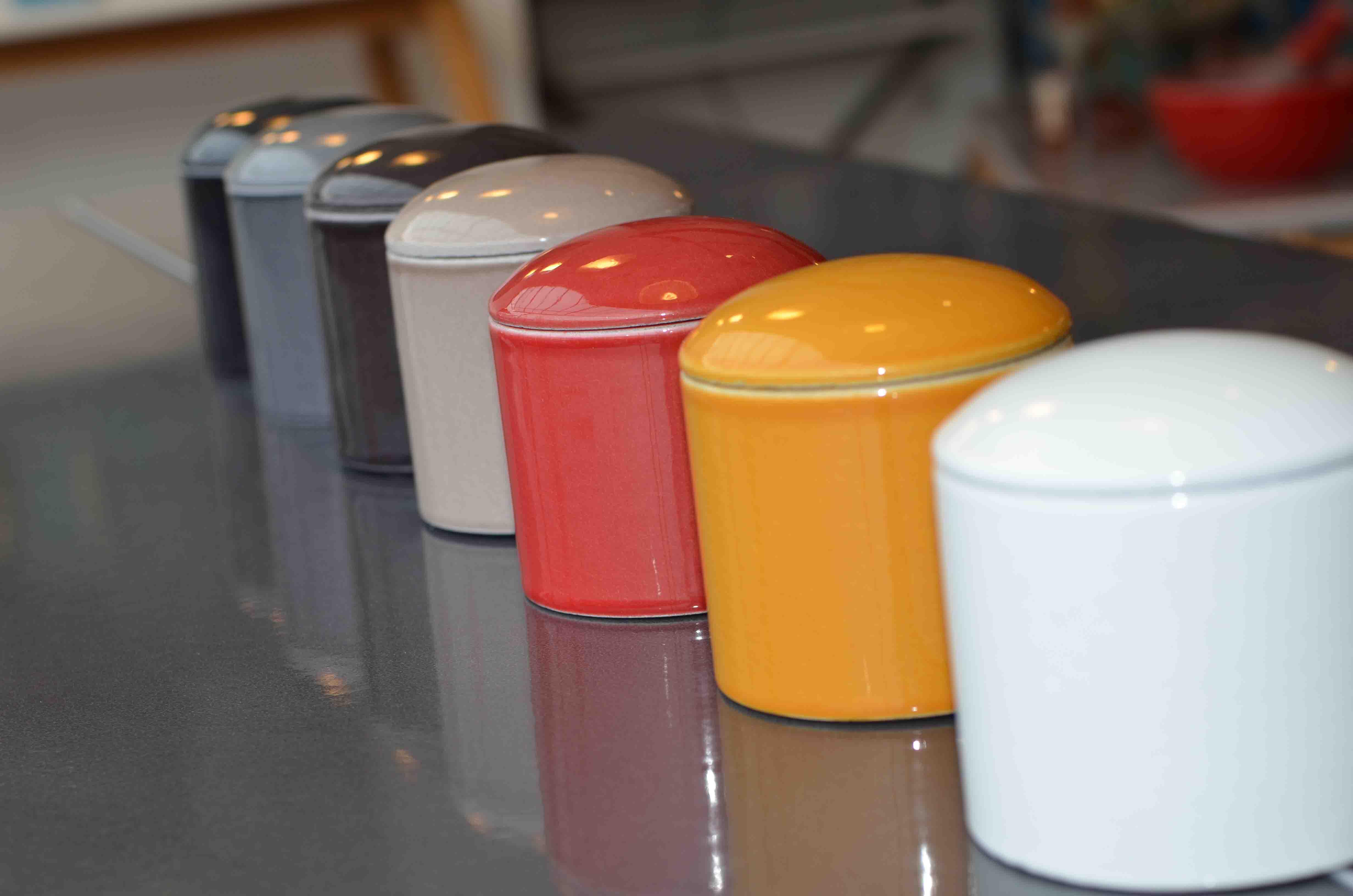 POTS lave émaillée couleur